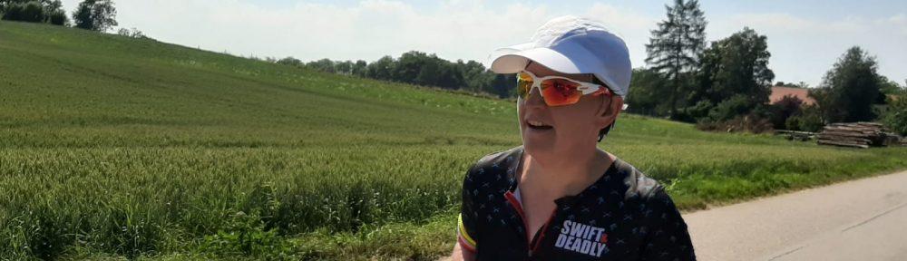 Steffi Brenninger unterwegs